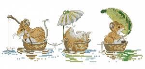 Схема Речной трамвайчик с мышатами