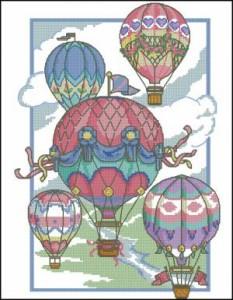 Схема Воздушные шары