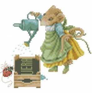 Схема Мышка — садовод