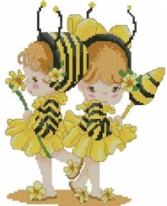 Схема Дети пчёлки