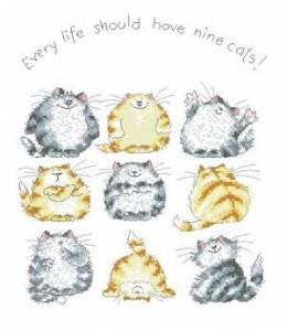 Схема Девять котят
