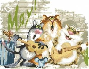 Схема Квартет (3 кота и мыша)