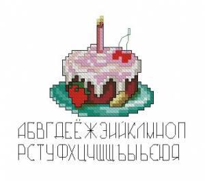 """Схема Миниатюрка """"Тортик"""""""