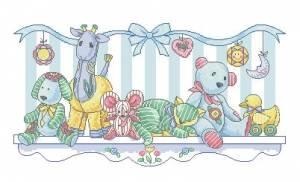Схема Метрика / Toy shelf birth record