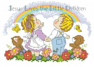 Схема Иисус любит / Jesus loves