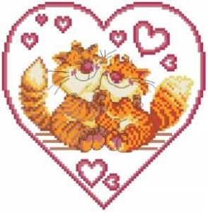 Схема Коты в сердце