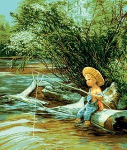 Схема Маленький рыбак