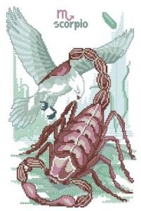 Схема Гороскоп. Скорпион