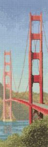 Схема Мост Золотые ворота / Golden Gate Bridge