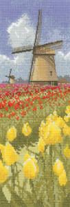Схема Поля тюльпанов / Tulip Fields
