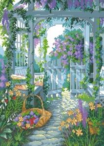 Схема Садовая калитка / Garden Gate