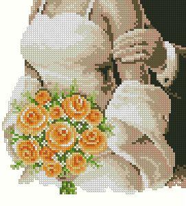 Схема Букет невесты