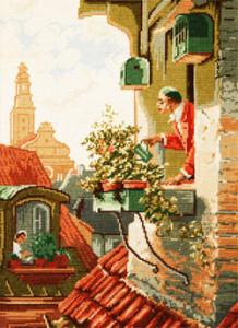 Схема Джентльмен на балконе