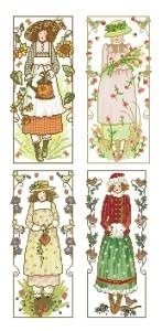 Схема Девушки (4 панели)