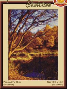 Схема Осенний пруд