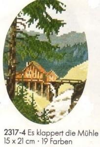 Схема В лесу / Es Klappert die Muhle