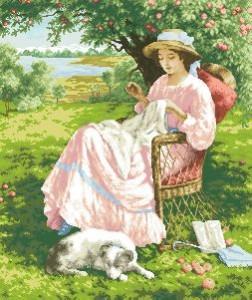 Схема Яблоневый сад