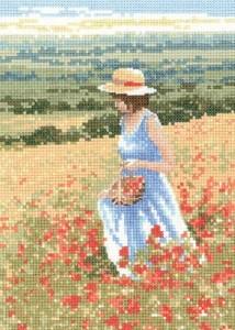 Схема Маковая девочка / Poppy Girl