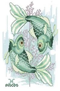 Схема Гороскоп. Рыбы