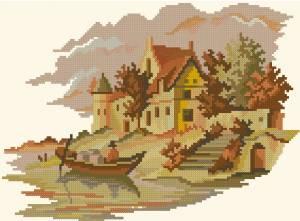 Схема Дом у реки