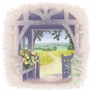 Схема Ворота / Lych Gate