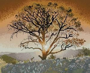 Схема Дерево и солнце