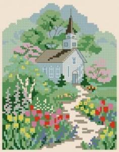 Схема Воскресная прогулка по саду / Sanday Garden Walk