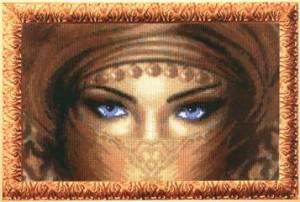 Схема Голубые глаза