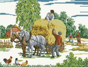 Схема В деревне