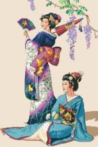 Схема Две японки