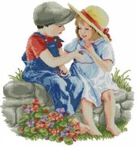 Схема Мальчик с девочкой