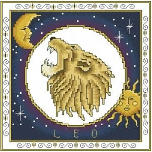 Схема Зодиак. Лев