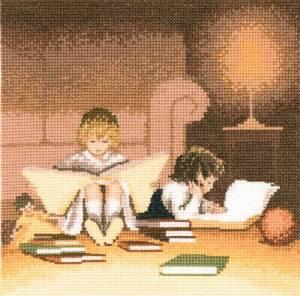 Схема Книгочтеи / Bookworms