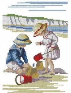 Схема Песочный замок / Sandcastle