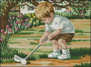 Схема Игра в гольф