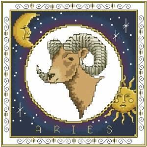 Схема Зодиак. Овен