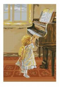 Схема Маленькая пианистка