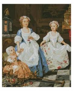 Схема Маленькие аристократки (В.Хогард)