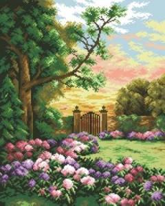 Схема Сад и калитка