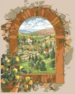Схема Мечтая о Тоскане / Dreaming of Tuscany