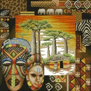Схема Африканская действительность