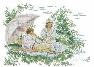 Схема Романтический пикник / Romantic Picnic