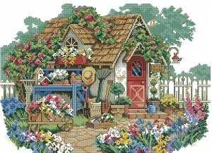 Схема Садовый домик / Gardener's Haven