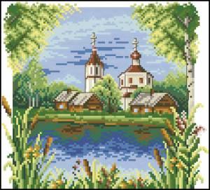 Схема Церковь у воды