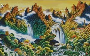 Схема Горный пейзаж