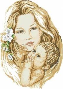 Схема Мама с малышом