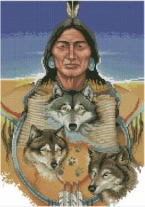 Схема Три серых волка