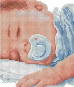 Схема Спящий мальчик