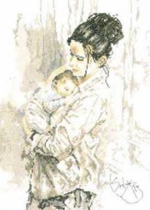 Схема Материнская любовь