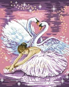 Схема Балерина и лебеди